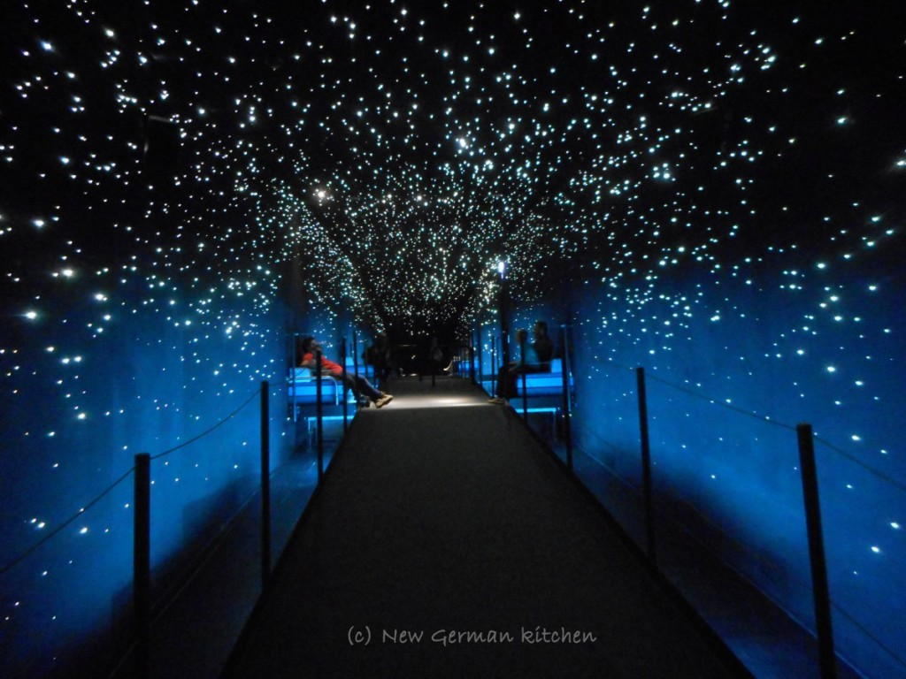 walking (or resting) under the starry sky